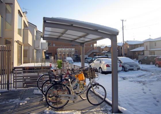 カーポート・サイクルポートの積雪対策