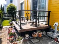 ウッドデッキで、お庭が快適空間に!