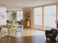 インプラス クリエペール色 防音効果が期待できる内窓設置例