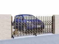 トリップゲートペットガード型。隙間が狭いのでペットの脱走を防ぎます