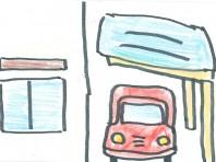 特殊な形状のカーポートも様々。