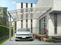 YKKAP レイナベーカポートグランは壁付けできる特殊なカーポート