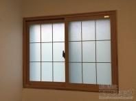 和室の雰囲気に馴染む内窓