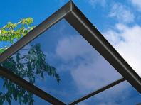 採光性と耐久性に優れた屋根材がカーポートに作用されています。