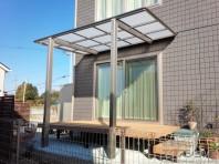 【予算と機能で選ぶテラス屋根】独立タイプ LIXIL フーゴF 独立テラスタイプ