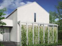 壁面緑化としてグリーンブロックの活用例