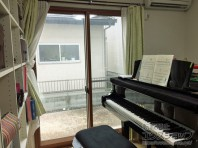 ピアノの練習も心置きなくできますね。