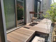 LIXIL-樹ら楽ステージ木彫 設置例(イメージ)