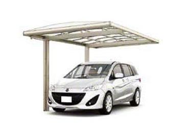 カーポート(工事費込) LIXIL フーゴAプラス (アーチスタイル)(車庫 ガレージ 車用の屋根)