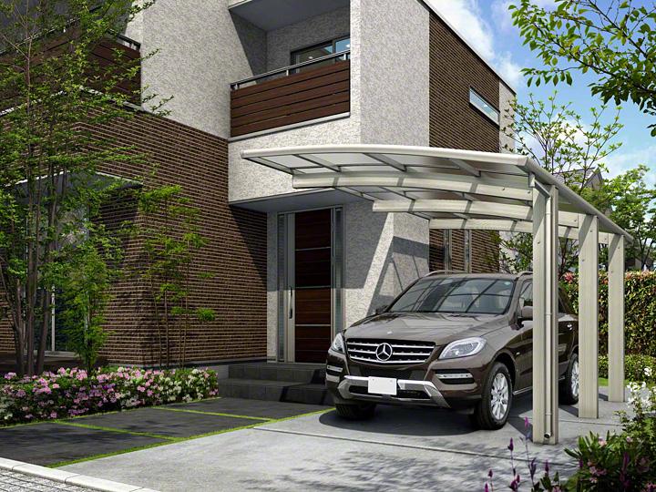 カーポート(工事費込) YKKAP レイナポートグラン50 積雪50cm対応(車庫 ガレージ 車用の屋根)