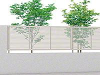 ライシスフェンス 1型 細横桟