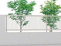 プレスタフェンス 2型 細たて桟