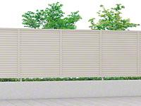 プレスタフェンス 8型 横ルーバー