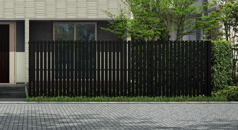 フェンス(工事費込) YKKAP ルシアス スクリーンフェンスS04型