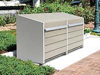 ダストボックスミニ連結 メッシュ床タイプ DBN-106ML-2 400L×2