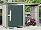 タクボの物置・屋外倉庫 Mr.ストックマン プラスアルファ 多雪型 結露減少型 4047×1590×2110(扉側幅2200) TP-SZ40R15画像1