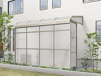 スピーネストックヤードR型 積雪50cm対応 パネルタイプ 袖壁仕様