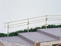 パルトナーUDフェンス2型(手すり) 横格子タイプ