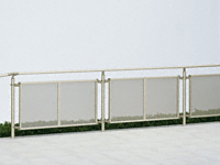 パルトナーUDフェンス4型(手すり) パンチングパネル