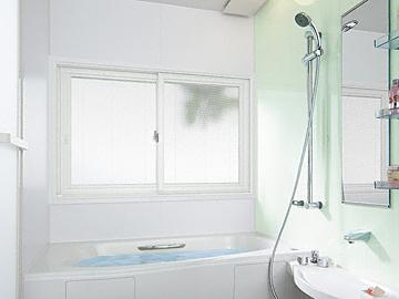 の二重窓(内窓) インプラス 引違い窓 2枚建 浴室仕様