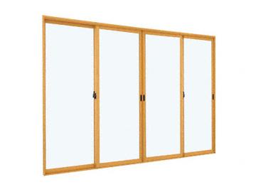 の二重窓(内窓) プラマードU 引違い窓 4枚建