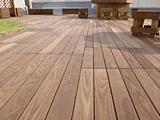 天然木タンモクアッシュデッキセット 無塗装床板