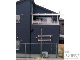 のバルコニー・ベランダ屋根 ソラリア R型 屋根タイプ 単体 積雪〜20cm対応 施工例