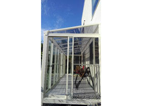 のテラス囲い・サンルーム サニージュ F型 床納まり ランマ無 積雪〜20cm対応 施工例
