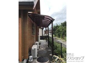 のテラス屋根 ソラリア R型 1500 テラスタイプ 連棟 積雪〜50cm対応 施工例