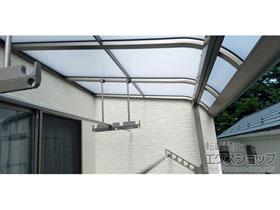 のバルコニー・ベランダ屋根 パワーアルファ RB型 屋根タイプ 単体 積雪〜30cm対応 施工例