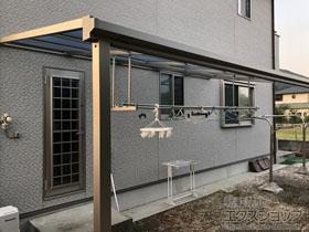のテラス屋根 ソラリア F型 テラスタイプ 単体 積雪〜20cm対応 施工例