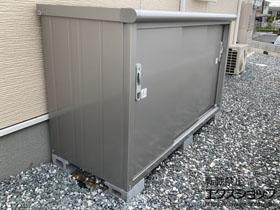 の物置・屋外倉庫 エスモ 一般型 1797×750×1101 ESE-1807Y-SS 施工例