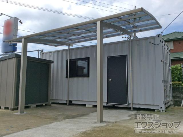 鹿児島県枕崎市のYKKAPカーポート施工例(レイナポートグラン ...